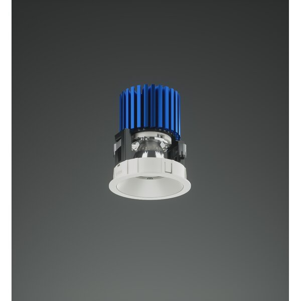 3 Round LED Recessed Housing Track Head by Bruck Lighting