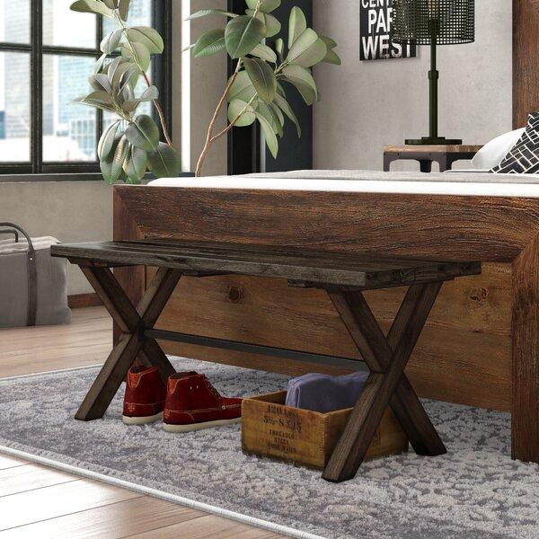 Gillan Wood Bench by Gracie Oaks