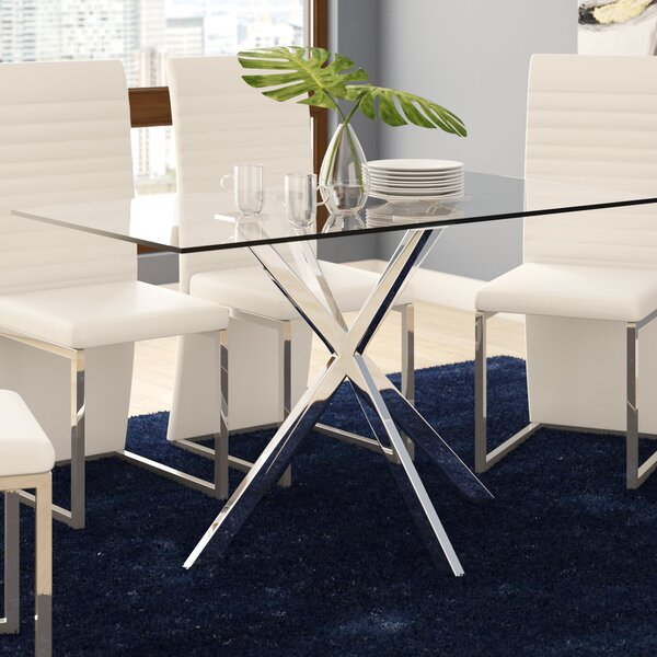Dever Dining Table by Wade Logan