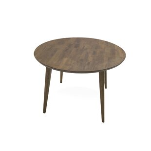 Best Deals Burgan Solid Wood Dining Table ByUnion Rustic