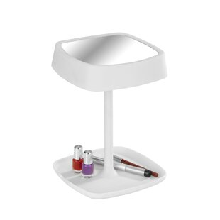 Bargain Ostia LED Cosmetic Makeup/Shaving Mirror with Table Lamp (Set of 2) ByWenko Inc