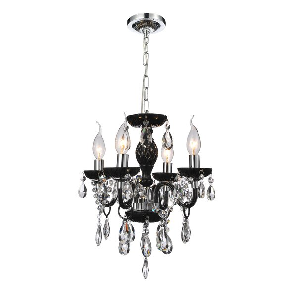 Schoonover 4 - Light Candle Style Classic / Traditional Chandelier By House Of Hampton