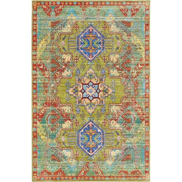 Danbury Multi-Colored Area Rug by World Menagerie