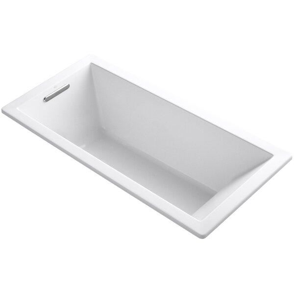 Underscore Vibracoustic 66 x 32 Soaking Bathtub by Kohler