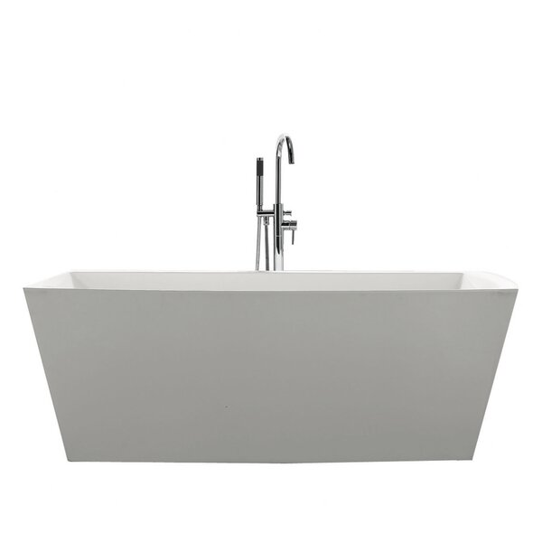 Sessile 67 x 28.75 Soaking Bathtub by Jade Bath