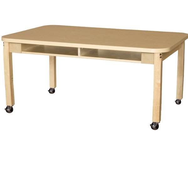 Wood 16 Multi-Student Desk by Wood Designs
