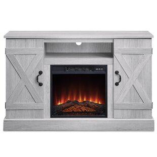 Dekou TV Stand for TVs up to 50 with Fireplace Included by Gracie Oaks