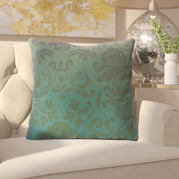 Brynner Cotton Throw Pillow by House of Hampton