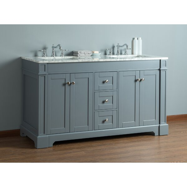 Farrell 60 Double Bathroom Vanity Set by Breakwater Bay
