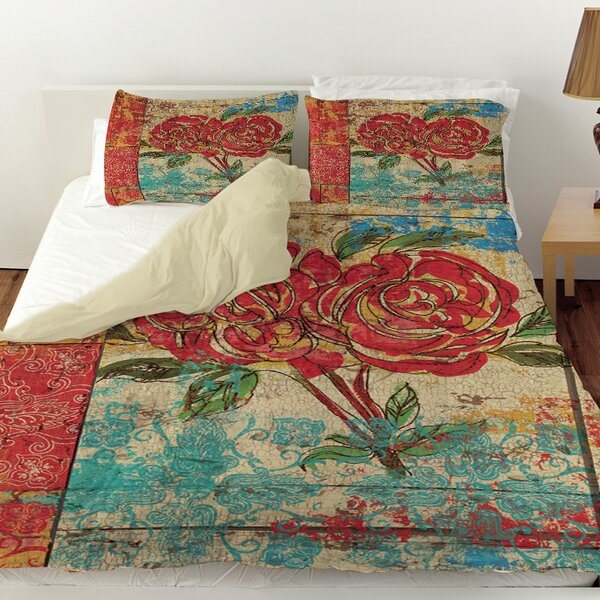 Valencia 2 Duvet Cover by Manual Woodworkers & Weavers