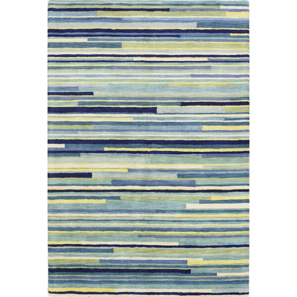 Baliny Hand-Tufted Blue Area Rug by Latitude Run