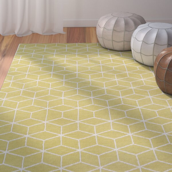 Julie Yellow Area Rug by Langley Street