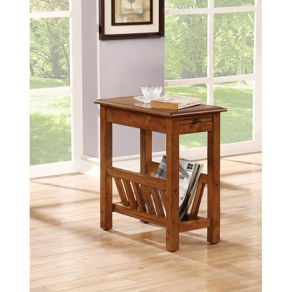 Flovilla End Table By Millwood Pines