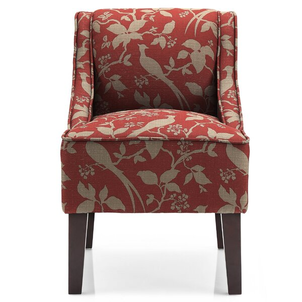 Adams Swoop Armchair by Andover Mills