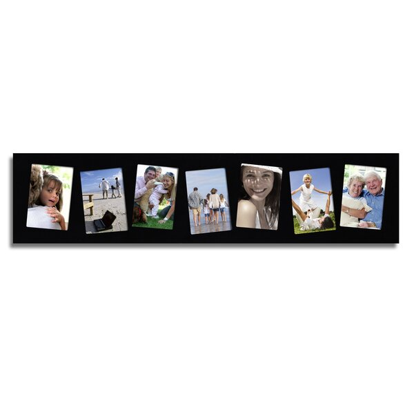 Jamerson 7 Photo Decorative Wood Wall Hanging Picture Frame by Winston Porter