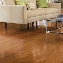 Color Plank 4 Solid Red Oak Hardwood Flooring in Golden Oak by Somerset Floors