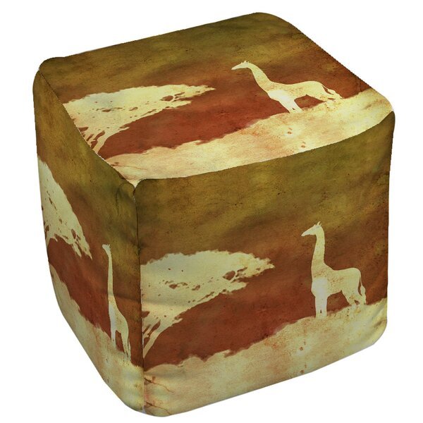 Safari Sunrise 4 Pouf by Manual Woodworkers & Weavers