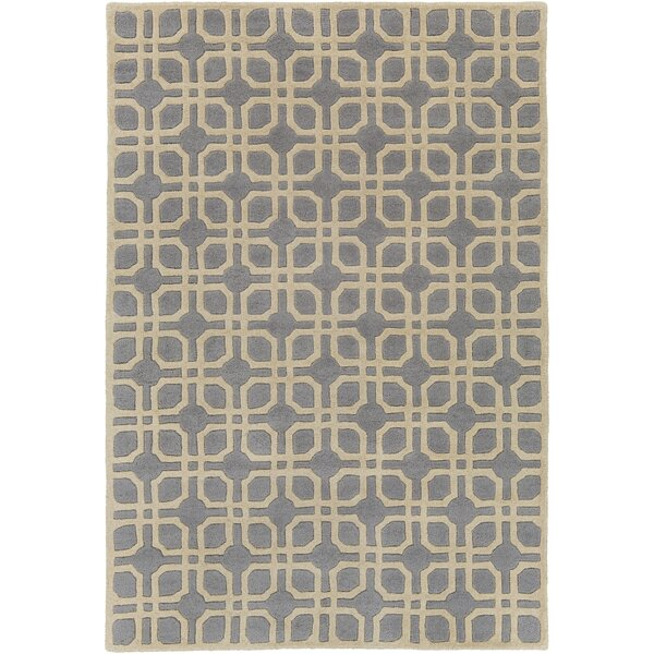 Murrah Pale Blue/Ivory Area Rug by Ebern Designs