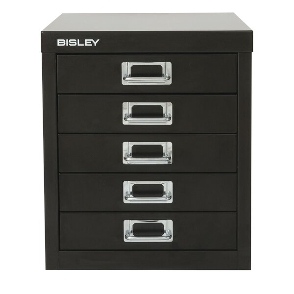 5 Drawer Vertical File by Bisley