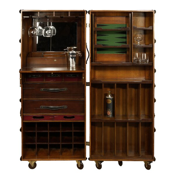 Stateroom Bar with Wine Storage by Authentic Models