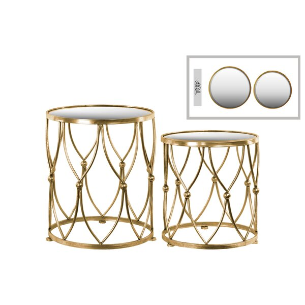 Colmont 2 Piece Nesting Tables by Mercer41