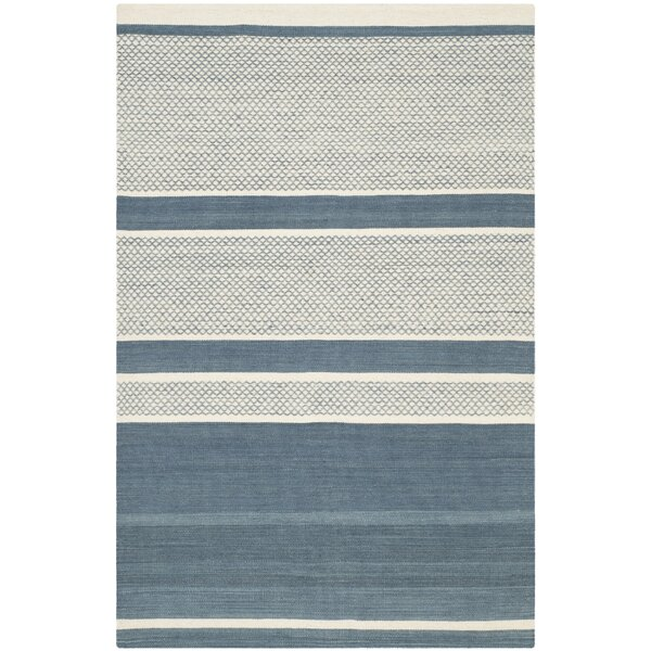Tricia Hand-Woven Cotton Area Rug by Corrigan Stud