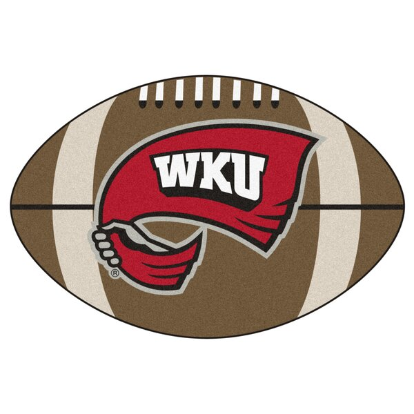 NCAA Western Kentucky University Football Doormat by FANMATS