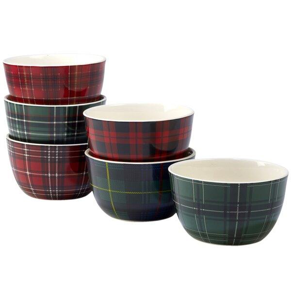 Sylvan 6 Piece 24 oz. Dessert Bowl Set by Millwood Pines