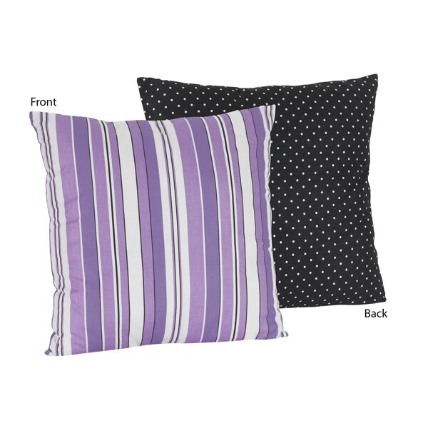 Kaylee Cotton Throw Pillow by Sweet Jojo Designs