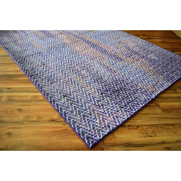 Basil Lavender Area Rug by Wrought Studio