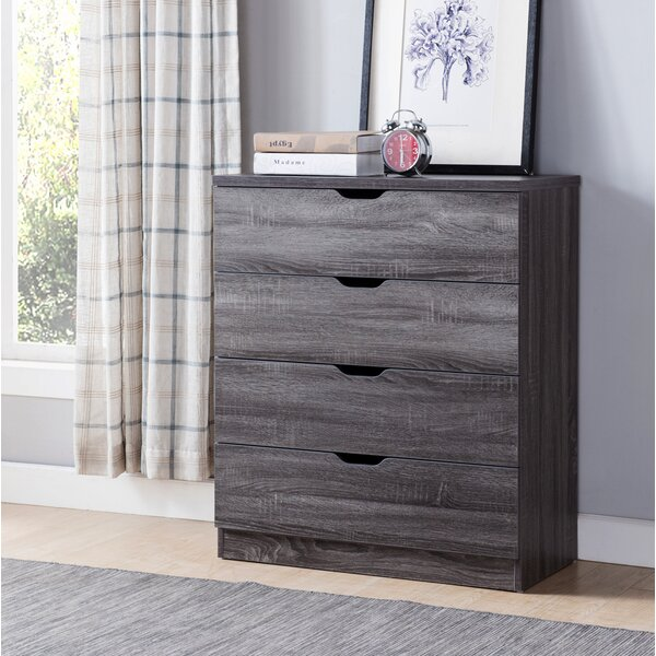 Slaughter 4 Drawer Accent Chest by Gracie Oaks