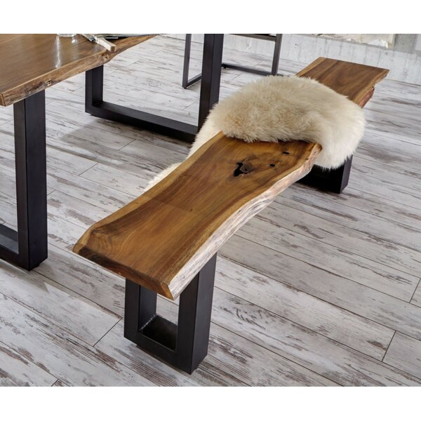 Lemay Wood Bench by Union Rustic