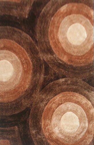 Principato Brown Area Rug by Wrought Studio
