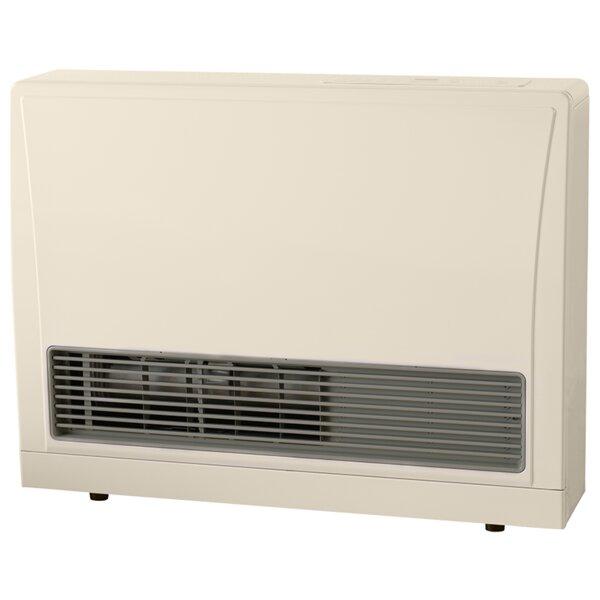 C Series Direct Vent 16,700 BTU Propane Fan Panel Heater by Rinnai