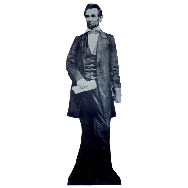 Patriotism and Politics Abraham Lincoln Cardboard Stand-up by Advanced Graphics