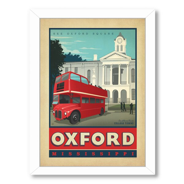 Oxford Framed Vintage Advertisement by East Urban Home
