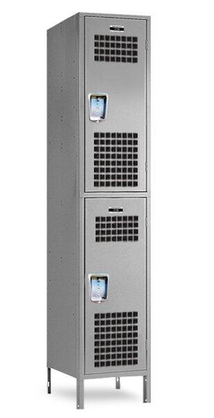 2 Tier 1 Wide School Locker by Jorgenson Lockers2 Tier 1 Wide School Locker by Jorgenson Lockers