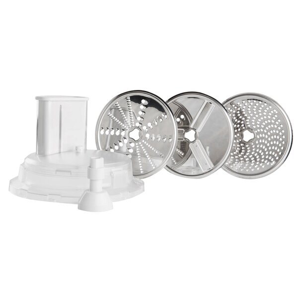 Universal Mixer Large Slicer Shredder Attachment with Three Discs by L'Equip