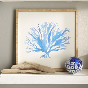 Sea Coral Framed Painting Print
