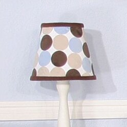 Minky Dot 8 Empire Lamp Shade by Brandee Danielle