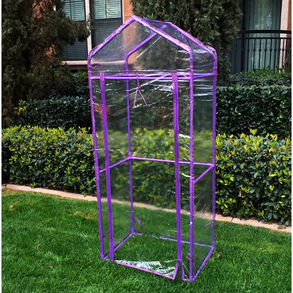 Mobile Green Wall 2.41 Ft. W x 1.75 Ft. D Mini Greenhouse by Watex