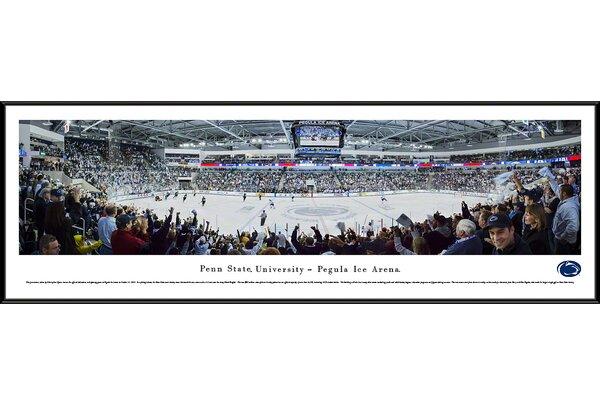 NCAA Penn State University - Hockey by Christopher Gjevre Framed Photographic Print by Blakeway Worldwide Panoramas, Inc