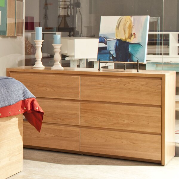 Kadon 6 Drawer Double Dresser by Orren Ellis