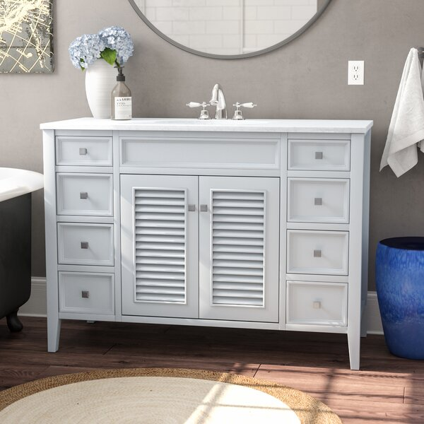 Sandburg 48 Single Bathroom Vanity Set by Beachcre