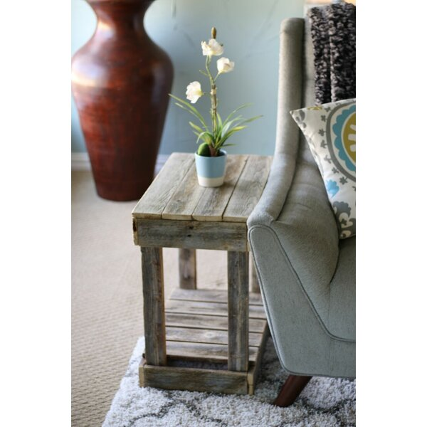 Frankford Slatted End Table by Ophelia & Co.