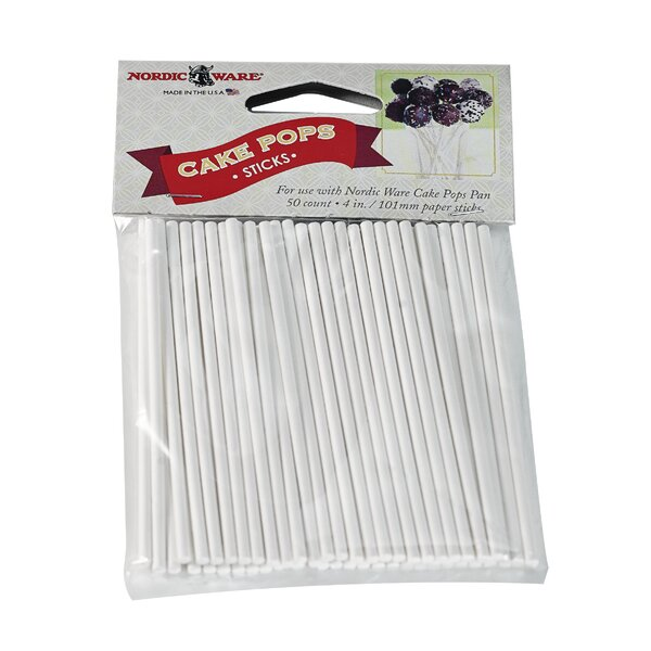 Cake Pop Stick (Set of 50) by Nordic Ware
