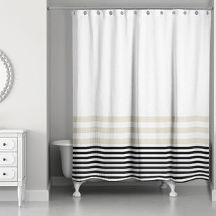 Black Gray Silver Shower Curtains You Ll Love Wayfair