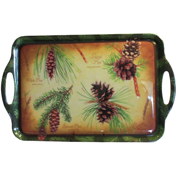 Pinecones Serving Tray by MotorHead Products