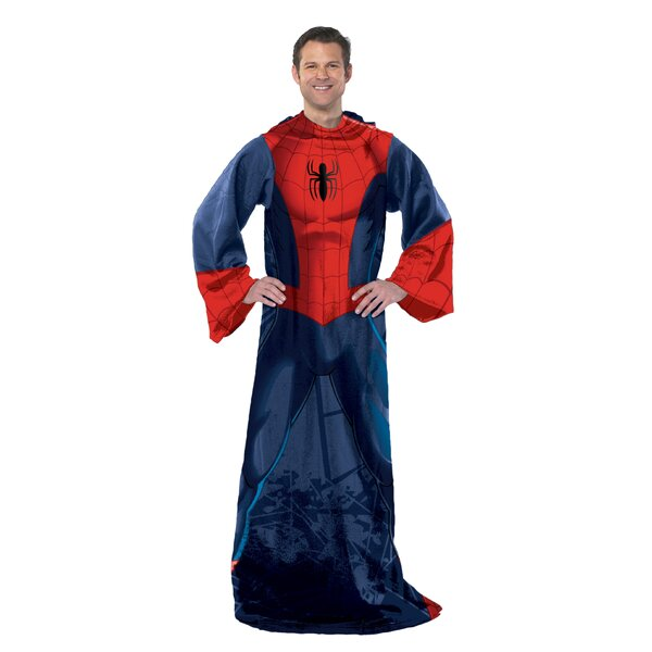 Spider-Man - Spider Up Adult Comfy Throw by Northwest Co.