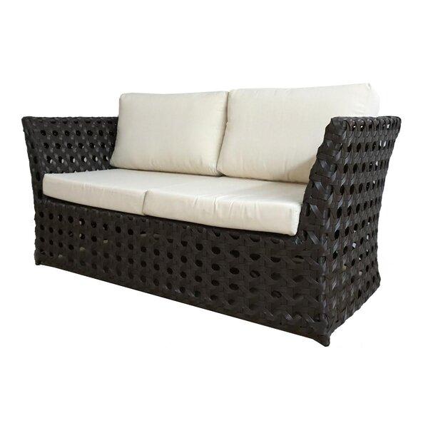 Open Loveseat with Sunbrella Cushions by Feruci